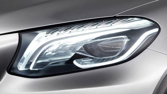 Mercedes Benz Concept Coupe SUV -