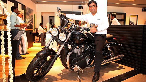Triumph Motorcycles India opens a new showroom in Kochi