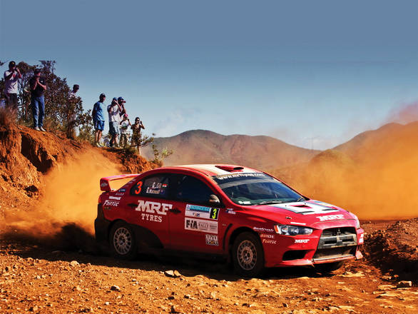 The transition to the APRC  with MRF was the big leap for Gill