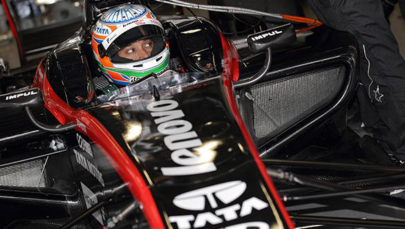 Narain Karthikeyan retires from inaugural race of 2014 Super Formula series