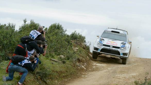 Ogier's win at Rally Portugal was also VW's eighth consecutive WRC victory