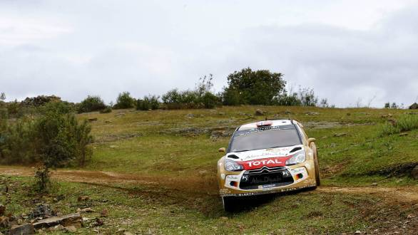 Third place at Rally Portugal went to Citroen driver Mads Ostberg