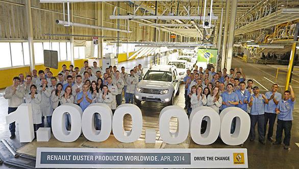 Renault one million unit