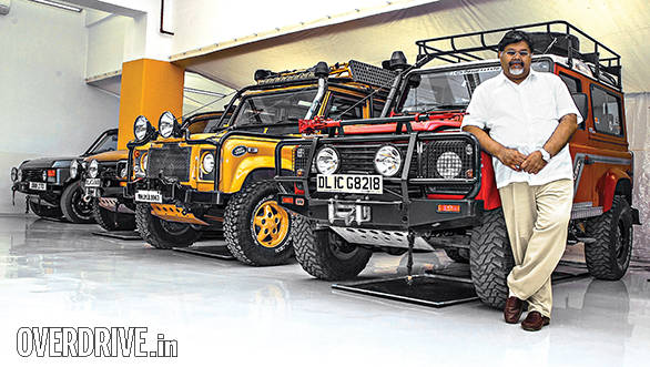 Collector: Viveck Goenka and his Land Rovers