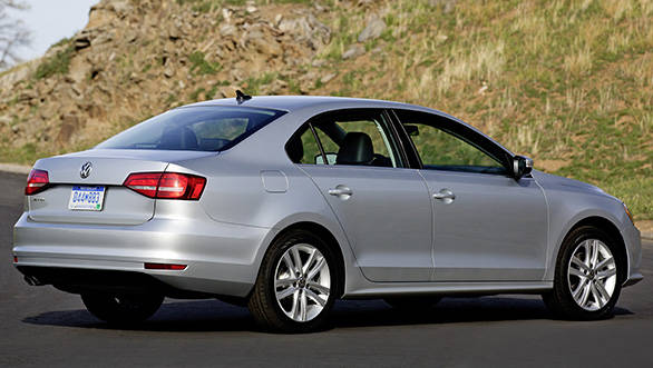 Volkswagen Jetta 2015 rear