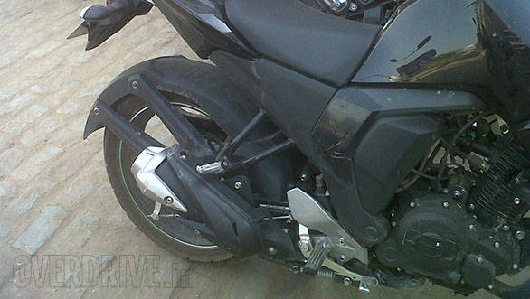Yamaha fz update spy shot image gallery overdrive for Yamaha fz back tyre price
