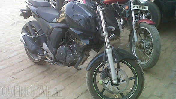 Yamaha FZ update spy shot image gallery