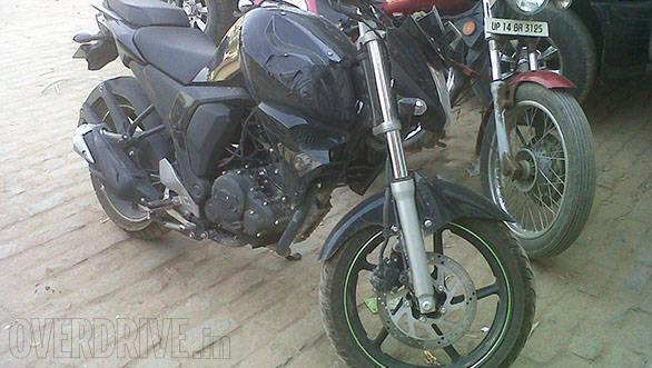 Yamaha FZ facelift spied (5)