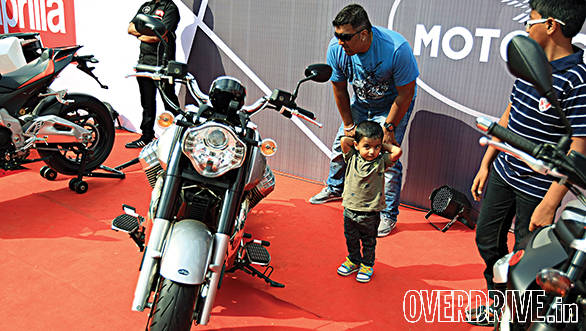Superbikes catch them young, and even kids had a lot to be thrilled about!