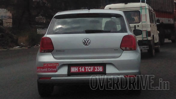 2014 Volkswagen Polo facelift spied (2)
