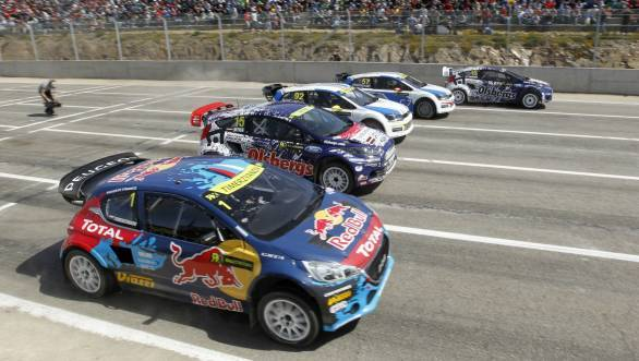 Petter Solberg wins first ever World Rallycross Championship race