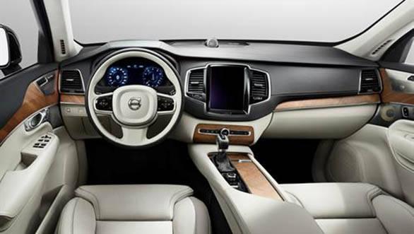 2015 Volvo XC90 interior