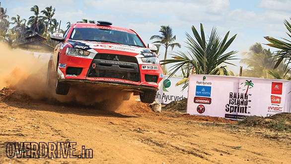Mitsubishi Island Autocross