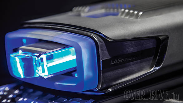 The laser module from the Audi Sport Quattro concept consists of four laser diodes