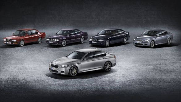 BMW M5 30th anniversary edition legacy