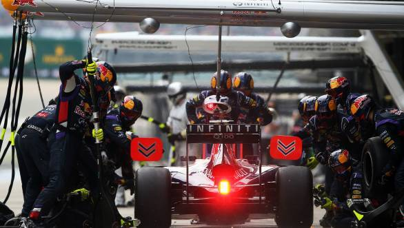 Vettel's team-mate, Ricciardo is set to receive a chassis change in Silverstone