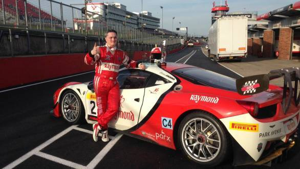 Gautam Singhania bags two race wins at Brands Hatch