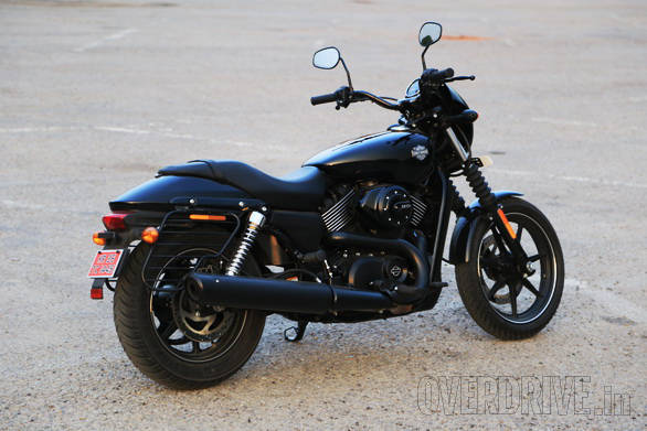 The Street range is the only Harley Davidson that is manufactured in India