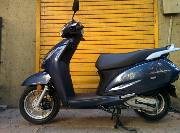 2014 Honda Activa 125 India First Ride Overdrive
