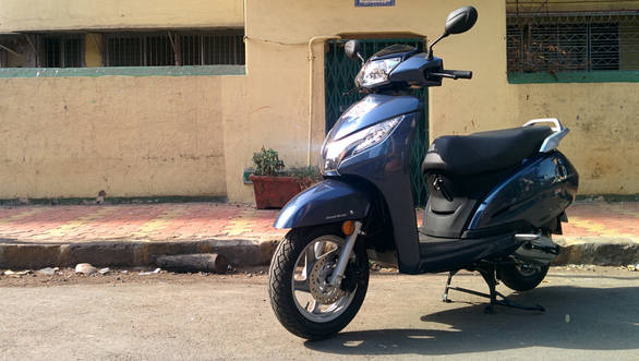 2014 Honda Activa 125 India first ride