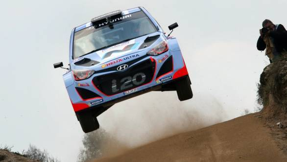 The Hyundai i20 WRC will  make it to the 2014 Goodwood Festival of Speed piloted by Dani Sordo