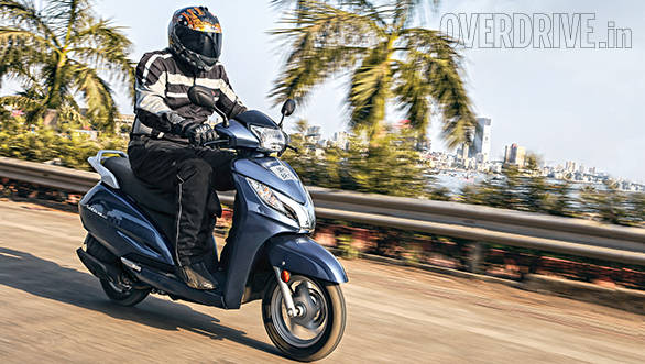 2014 Honda Activa 125 India road test
