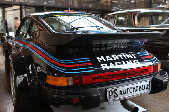 Here's a fine example of PS Automobile's work - this Martini liveried Porsche 934