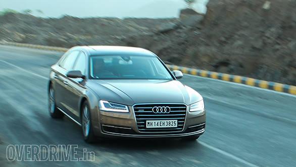 2014 Audi A8L India Road Test