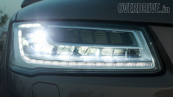 2014 Audi A8L Headlamps