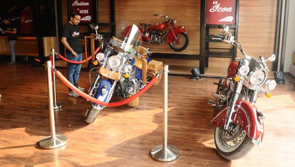 Indian Motorcycle Dealership Gurgaon May 7