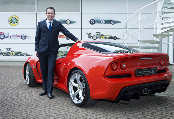 Jean-Marc Gales_CEO of Group Lotus plc