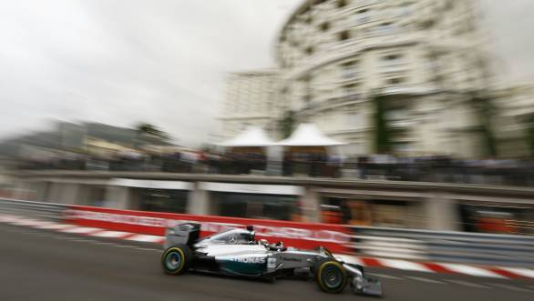 Hamilton's run of luck could well end at Monaco, if Red Bull and Ferrari manage to get their act together