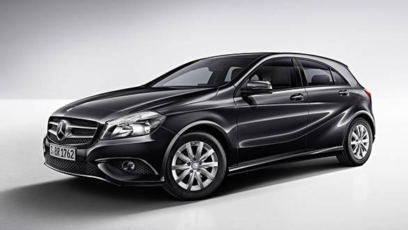 Mercedes Benz India announces black colour for A Class sel