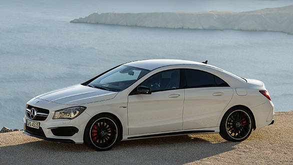 2014 Mercedes-Benz CLA45 AMG first drive