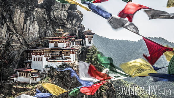 Taktsang or 'Tigers Nest' is one Bhutan's most iconic locations