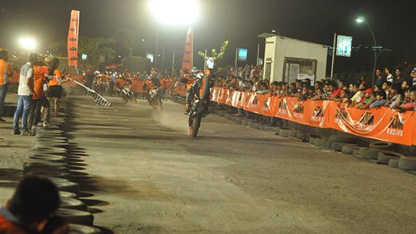 Riders riding at the 4th KTM Orange Day at Imax, Wadala on 3rd May at 6pm (3)