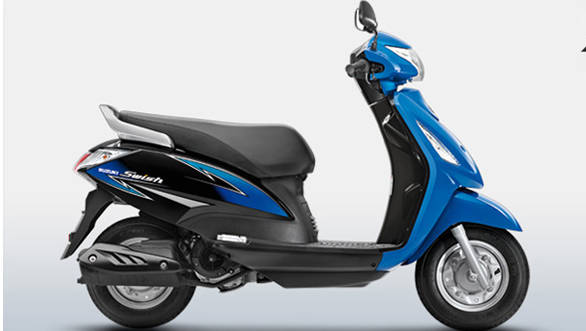 Suzuki updates the Swish 125