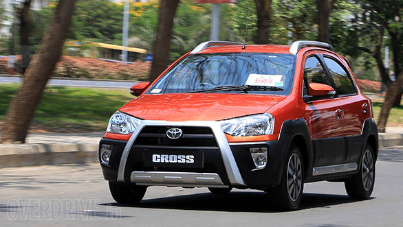 Toyota Etios Cross launched at Rs 5.76 lakh in India