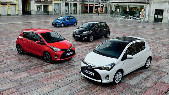 New 2014 Toyota Yaris unveiled