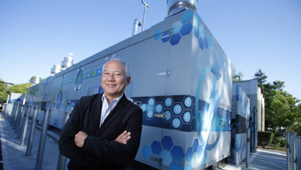 Toyota harnesses hydrogen fuel cell