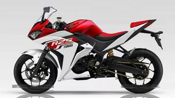 Yamaha YZF-R25 1