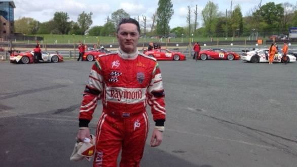 Gautam Singhania bagged two wins in the 2014 Pirelli Ferrari Open
