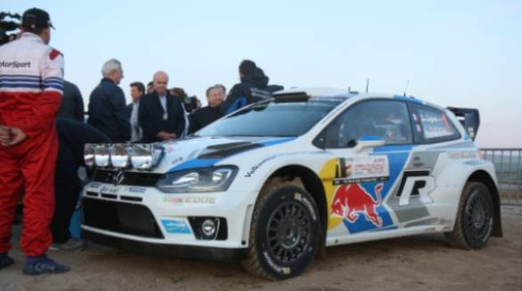 Ogier and Julien Ingrassia's No 1 Volkswagen Polo R WRC - the car that came, saw and conquered in its debut season and looks set to continue its winning streak this year too