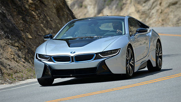 Bmw I8 Hybrid Electric Supercar Launched In India At Rs 2 29 Crore