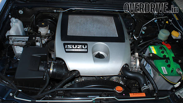 The 2.5-litre Isuzu Common Rail turbo-diesel produces best in class performance