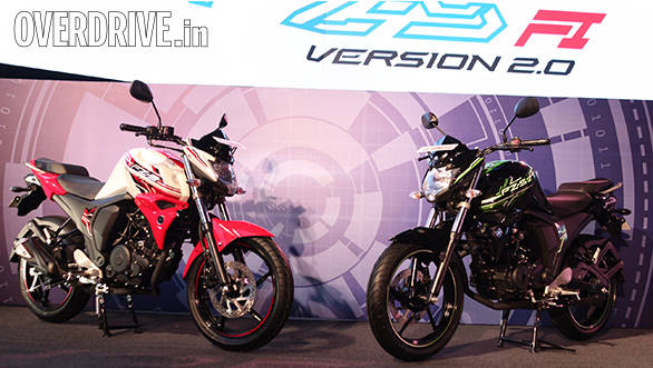 2014 Yamaha FZ FI version 2.0 launched in India at Rs 76,250