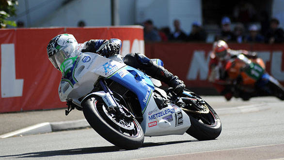 Lightweight TT winner Dean Harrison made a mark at the 2014 IOMTT