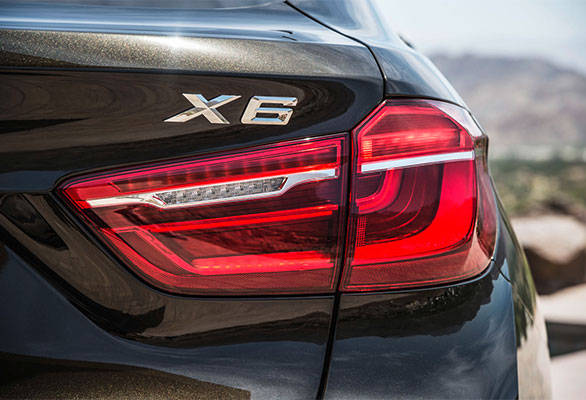 All new LED tail lamps look striking