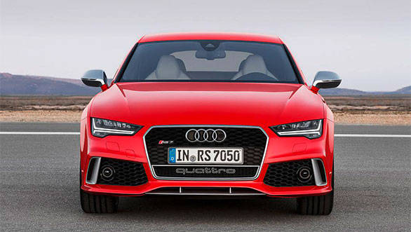 Audi RS7 Sportback facelift unveiled in Europe