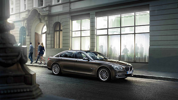 Group of Bmw 760Li High Security